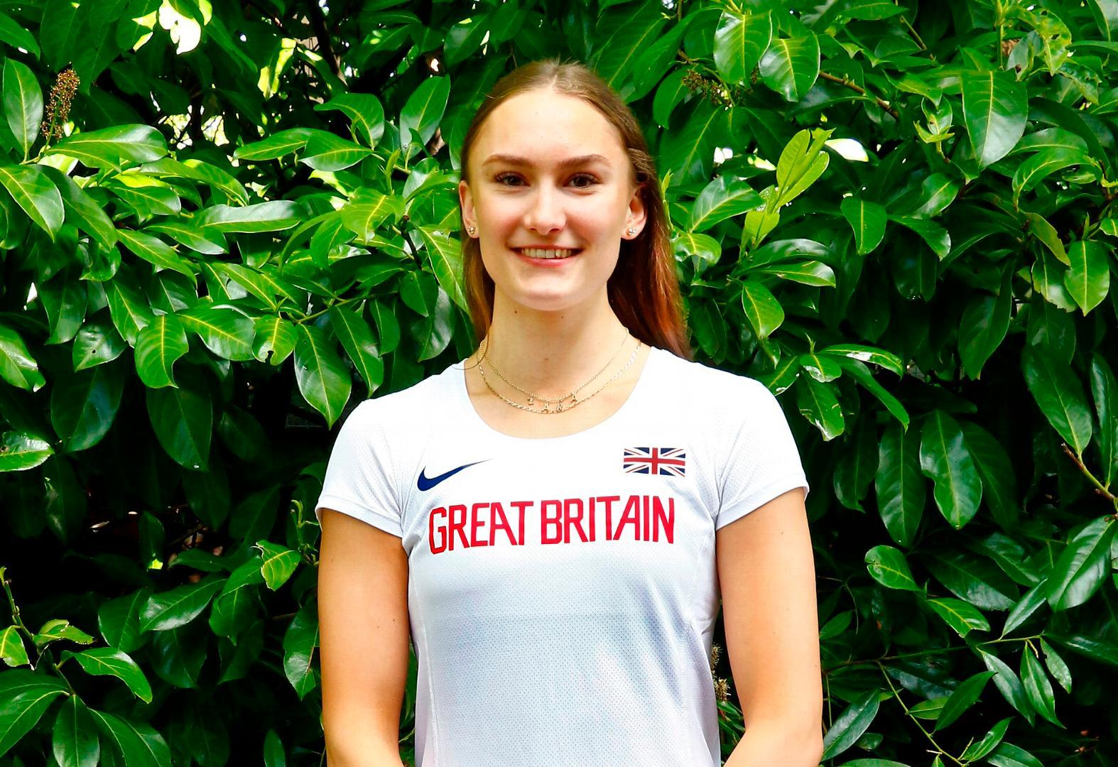 A2 student Zara jumps her way into Team GB