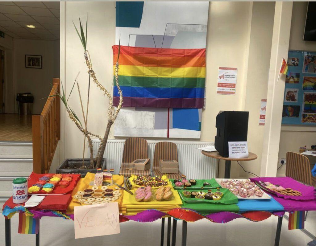 Cake Sale for Pride Week