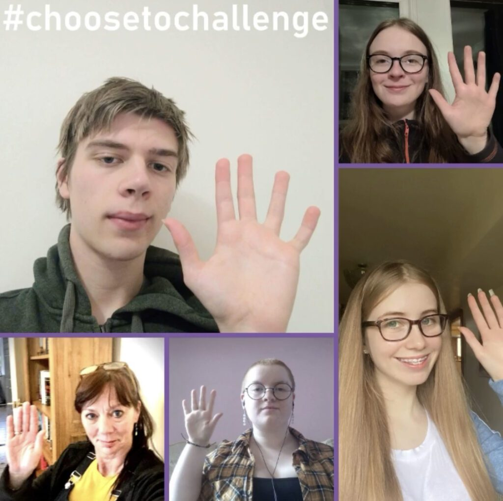 Choose to Challenge Campaign for International Women's Day
