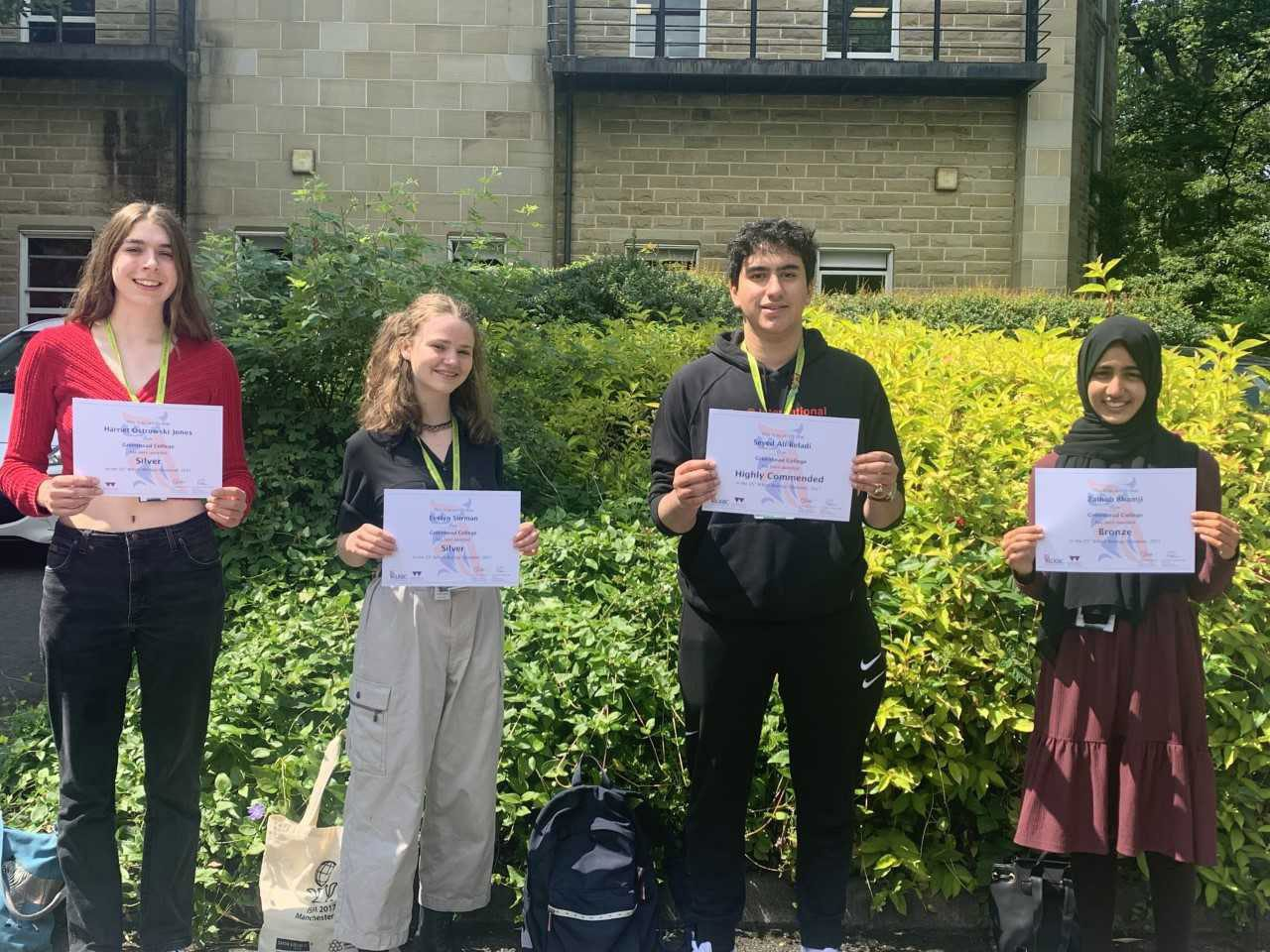 11 biology students awarded in British Biology Olympiad